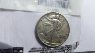 1943 50c Walking Liberty Half Dollar photo