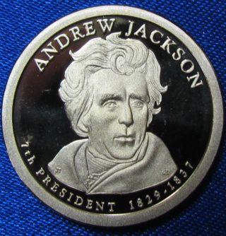 Proof 2008 - S Andrew Jackson Presidential Dollar - photo