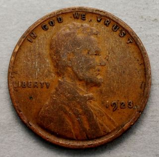 Very Good 1923 - P Lincoln Wheat Back Cent. . . .  10616 photo