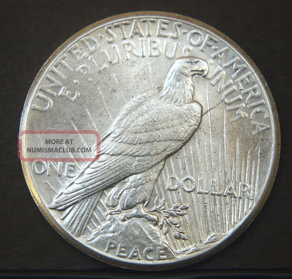 1928 Peace Silver Dollar Bu A15590