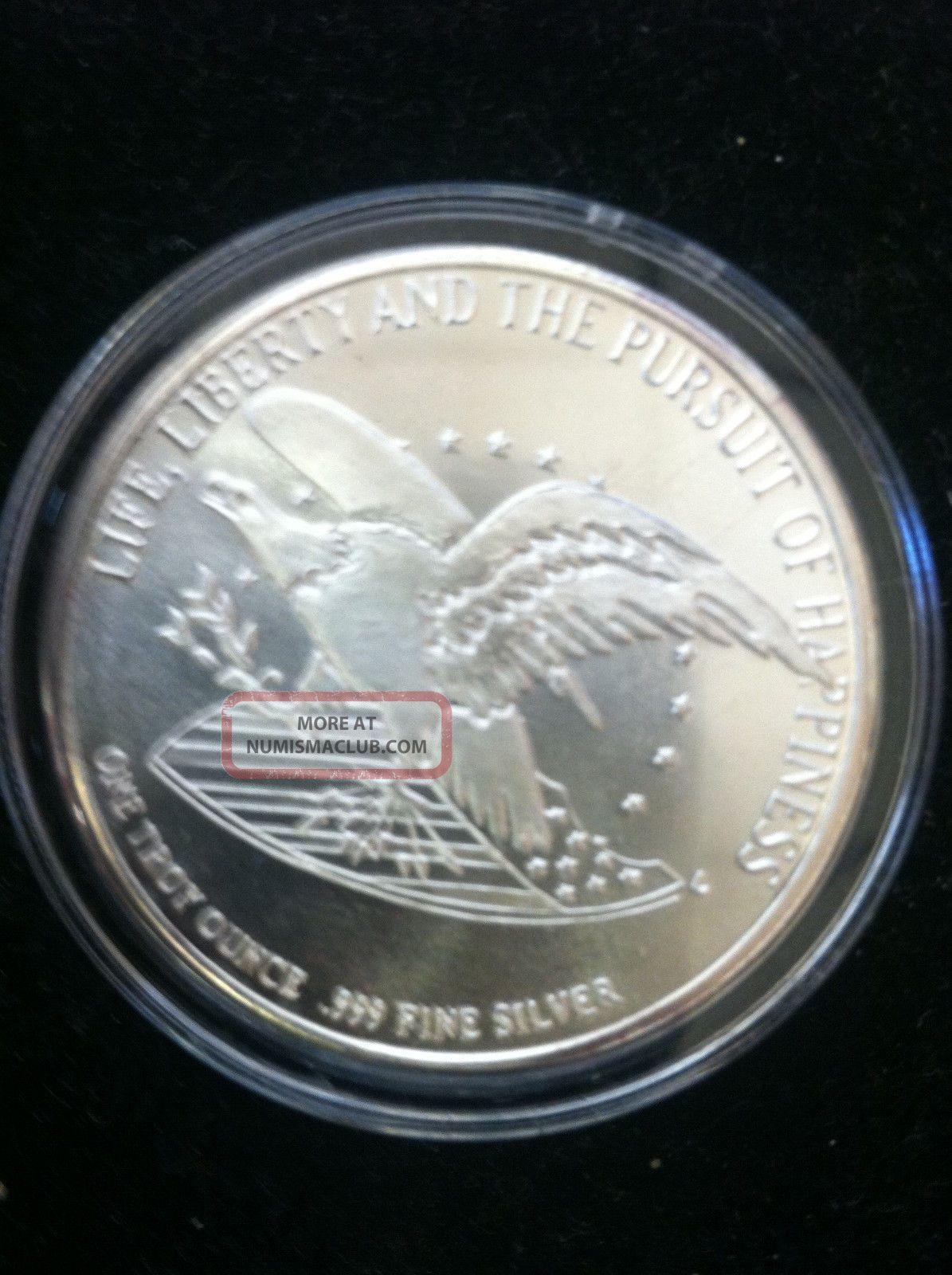 1791 1991 Bill Of Rights Commemorative Silver Coin 1