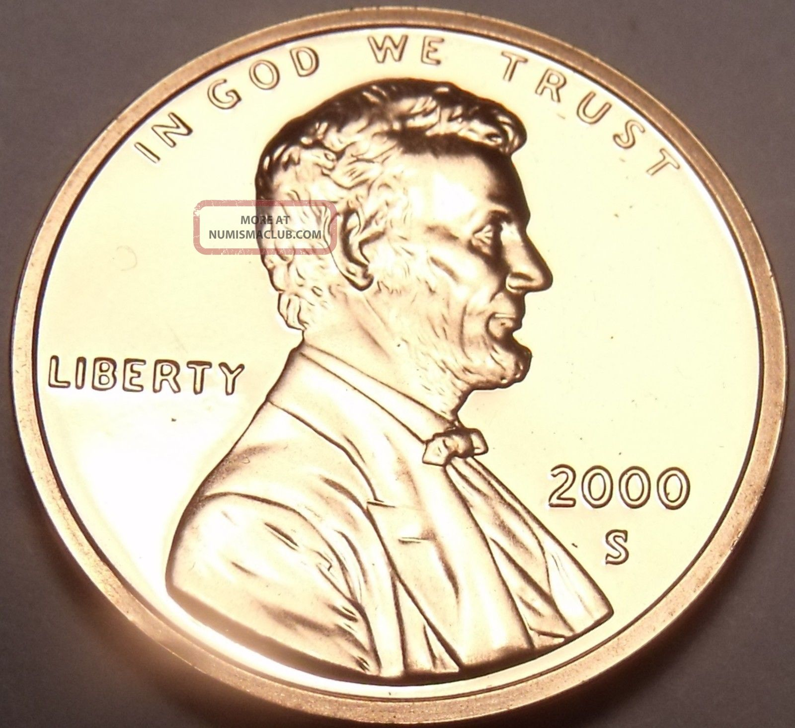 United States Proof 2000 - S Lincoln Memorial Cent We Have Proofs Small Cents photo