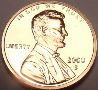 United States Proof 2000 - S Lincoln Memorial Cent We Have Proofs photo