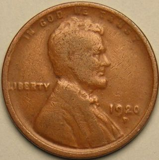 1920 D Lincoln Wheat Penny,  Ac 678 photo