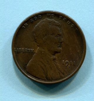 1911 - S Lincoln Cent Vg Better Date Estate Find photo