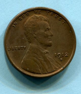 1912 - S Lincoln Cent Xf Estate Find photo