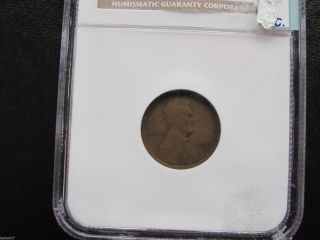 1909 - S Lincoln Cent Ngc Vg10 Bn Key Date M1011 photo