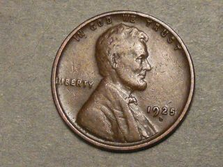 1925 - D Lincoln Wheat Cent 7141 photo