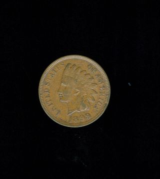 Ef 1899 Indian Head Cent. . photo