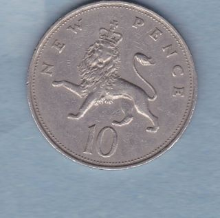 1968 Canada 10 Pence / Queeen Elizabeth Ii - Extra Fine photo