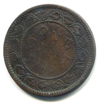 1859 Canadian Cent photo