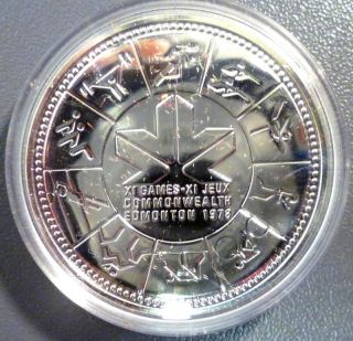Canada: 1978 Edmonton Commemorative Silver Dollar photo