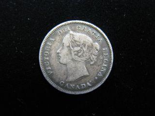1893 (5c) Canada 5 Cents,  Fine photo