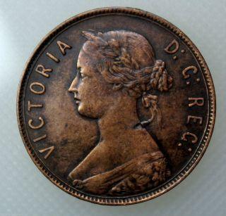 1894 Newfoundland Large Cent photo