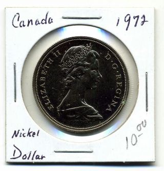 Canada Dollar 1972,  Bu Pl photo