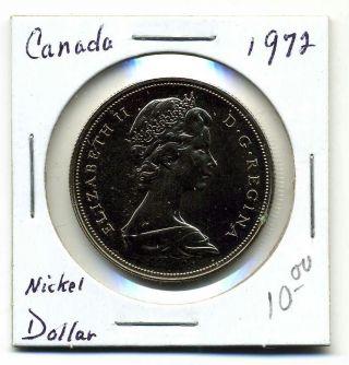 Canada Dollar 1972,  Bu Pl photo