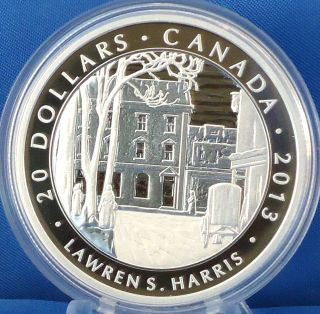 2013 $20 Fine Silver Harris Toronto Winter Street Morning 4 In Group Of 7 Series photo