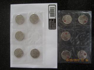 War 1812 Major - General Sir Isaac Brock - 25 - Cent Circulation 10 - Pack (2012) photo