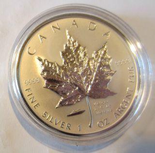 2005 Vj Day Silver Maple Leaf. . .  Vj Privy Coin. . .  999 Rare photo