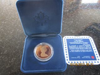 Canada 1987 Loonie $1 Dollar Proof Mintage 178120 First Year Coin photo