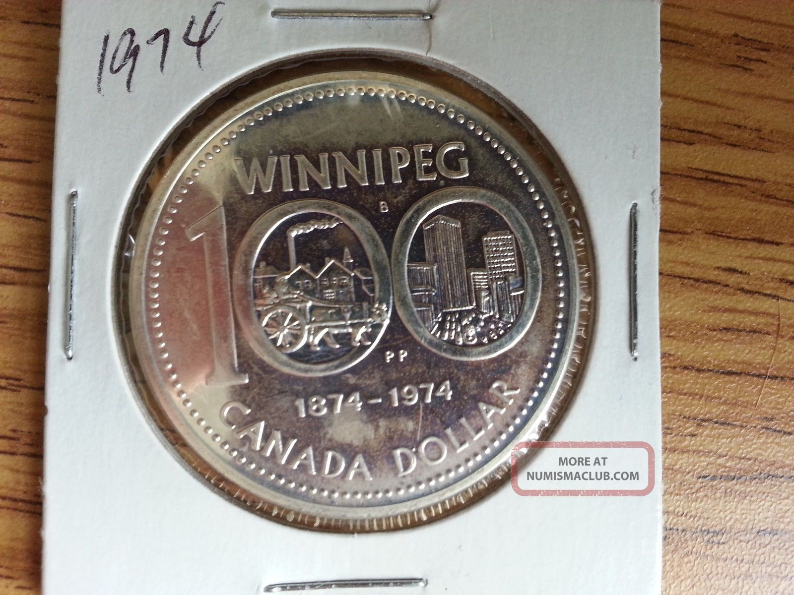 1974 Canada Silver Dollar Grade See Pics
