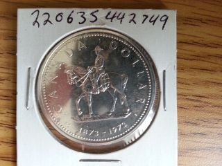 1973 Canada Silver Dollar - Grade.  See Pics. . photo