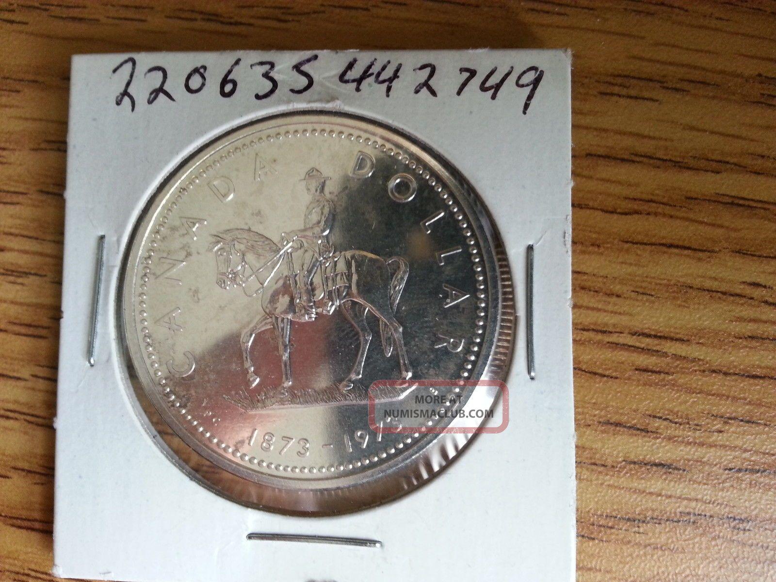 1973 Canada Silver Dollar Grade See Pics