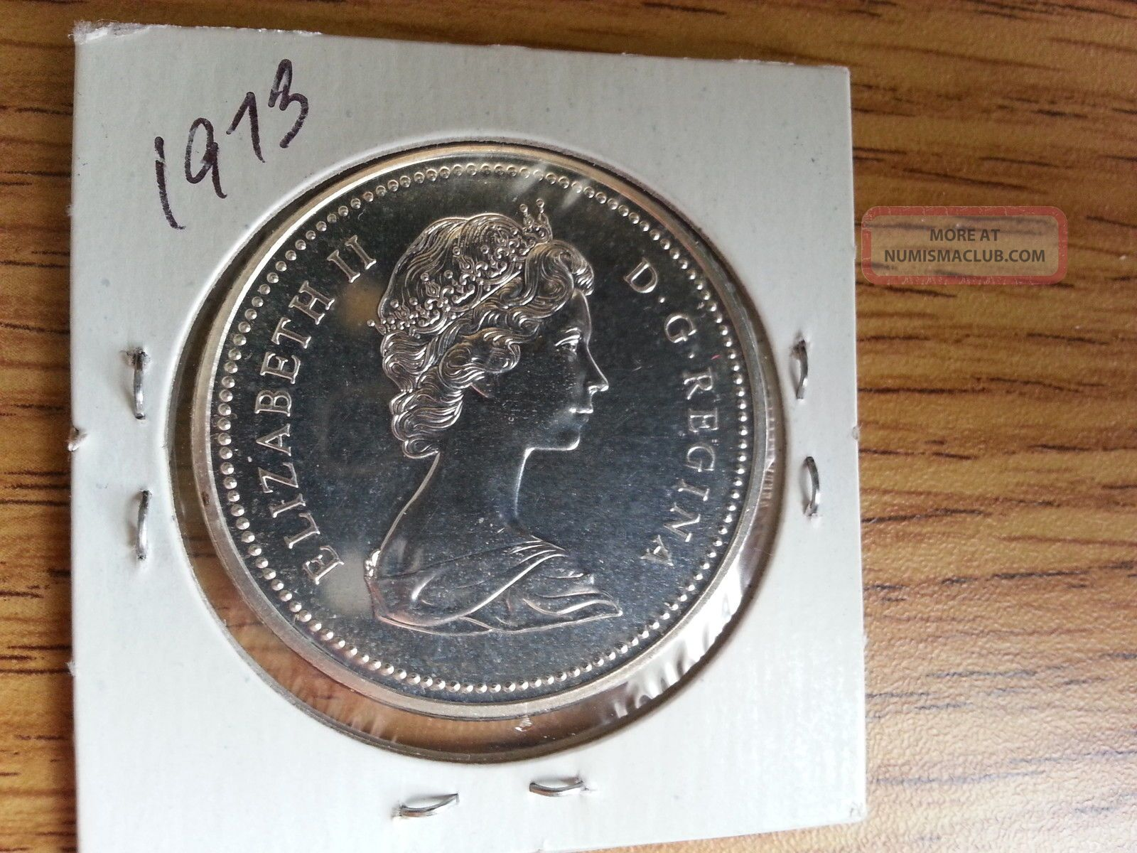 1935 Uncirculated Canadian Silver Dollar Canada S 1935
