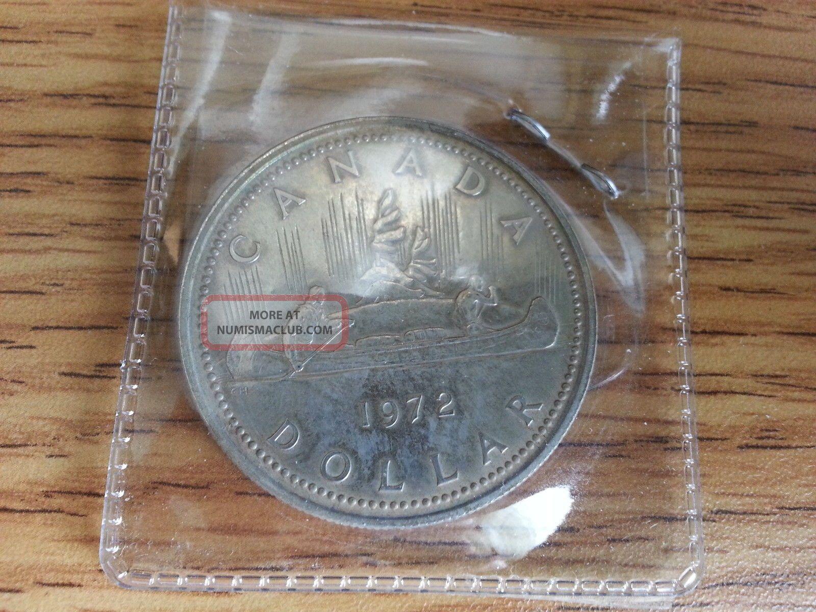 1972 Canada Silver Dollar Grade See Pics