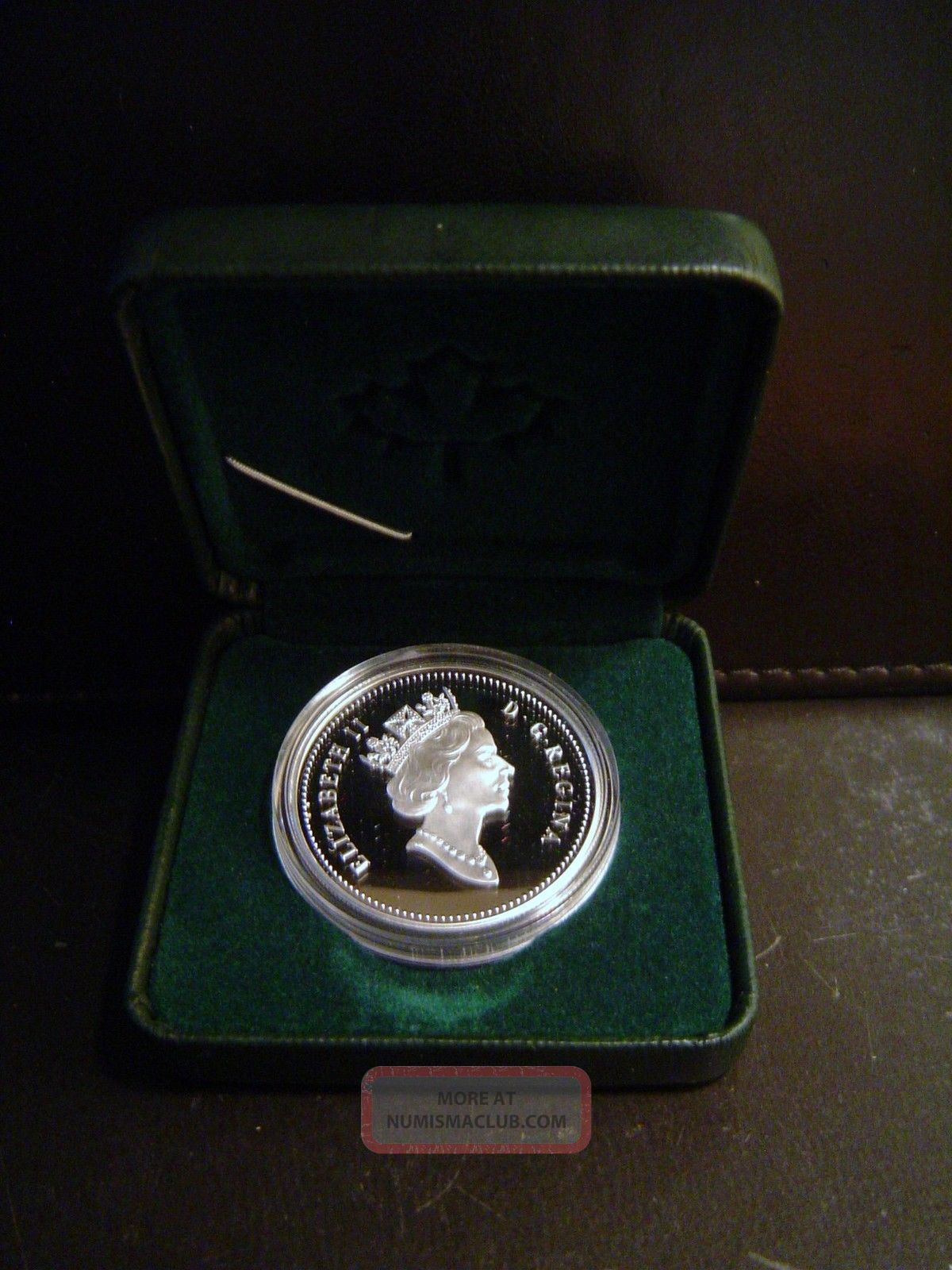 1999 Canada 1 Proof 92 5 Silver Dollar Coin Amp Box