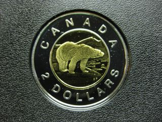 2005 Canadian Silver Proof Toonie ($2.  00) photo