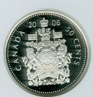 2006 Canada Silver 50 Cents Ngc Pr - 69 Ultra Heavy Cameo photo