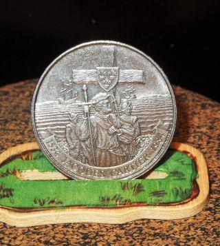 1984 Canada Jaques Cartier Dollar:1984 Canadian 1 Dollar Commemorative Coin photo