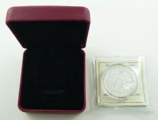 2013 Canada $10.  00 / Ten Dollars Fine Silver Coin - Hockey & photo
