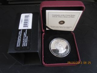 Ultra - High Relief Sterling Silver Coin - H.  R.  H.  Prince Henry Of Wales - 2011 photo