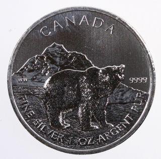 2011 Canada $5 Silver