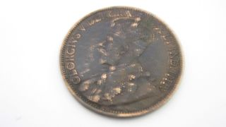 1912 Canada Coin.  One Cent,  Rare.   Look  Over 100 Years Old. photo