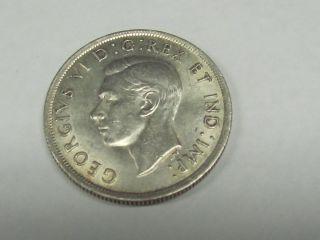 1937 Canada Silver Dollar Unc photo