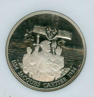 1984 Canada Jacques Cartier Dollar Ngc Pr69 Ultra Heavy Cameo photo