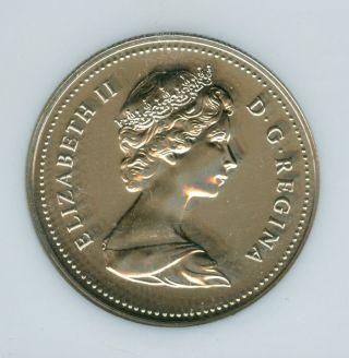 1985 Canada $1 Clad Dollar Ngc Pl - 67 photo