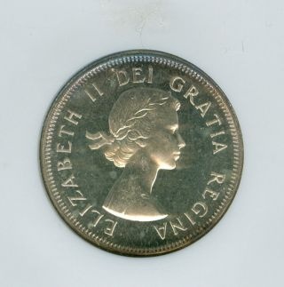 1960 Canada 25 Cents Ngc Pl - 65 Cameo. photo