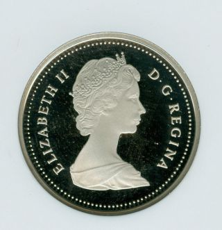 1987 Canada 25 Cents Ngc Pr - 69 Ultra Heavy Cameo. photo