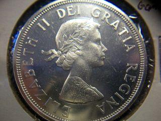 1964 Canada Silver Dollar Proof - Like Gem Bu photo