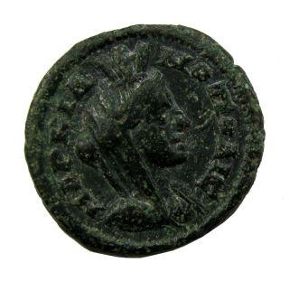 Markianopolis Moesia Rare Colonial BronzЕ Coin 3.  70g/19mm Rrr M - 866 photo