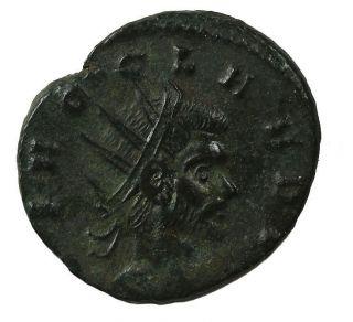 Claudius Ii Gothicus Ae Antoninianus 268 - 270 Mediolanum Mt.  Roman Coin Ric.  261 photo