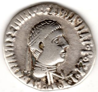 Rare Greek Silver Coin Apollodotus Conquests Of Alexander The Great Very Rare photo