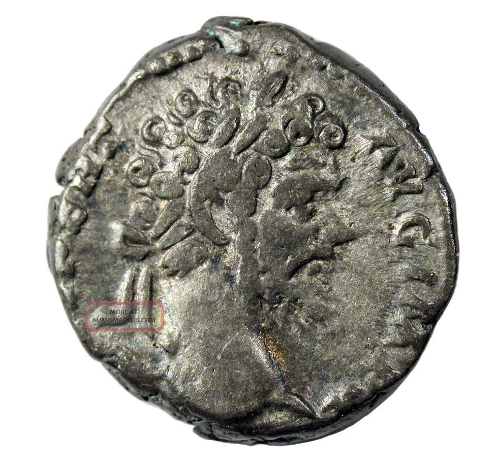 Septimius Severus 193 - 211 Ad Ar Denarius Struck 198 Ad Ric.  18 Avf Ancient Roman Coins: Ancient photo