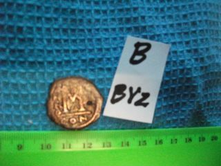 Large (27mm) Byzantine Coin,  Eastern Roman Empire,  Ancient. .  (b - Byz) photo
