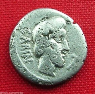 L.  Titurius,  Ar Denarius,  King Tatius,  Sabine Women,  89 Bc (1748) photo