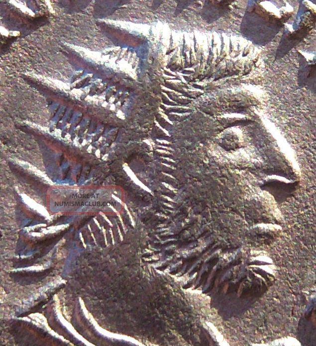 Unique Unseen & Rare Barbaric Imitation Of Philippus I Ancient Roman Coin ▀▄▀▄ Coins: Ancient photo